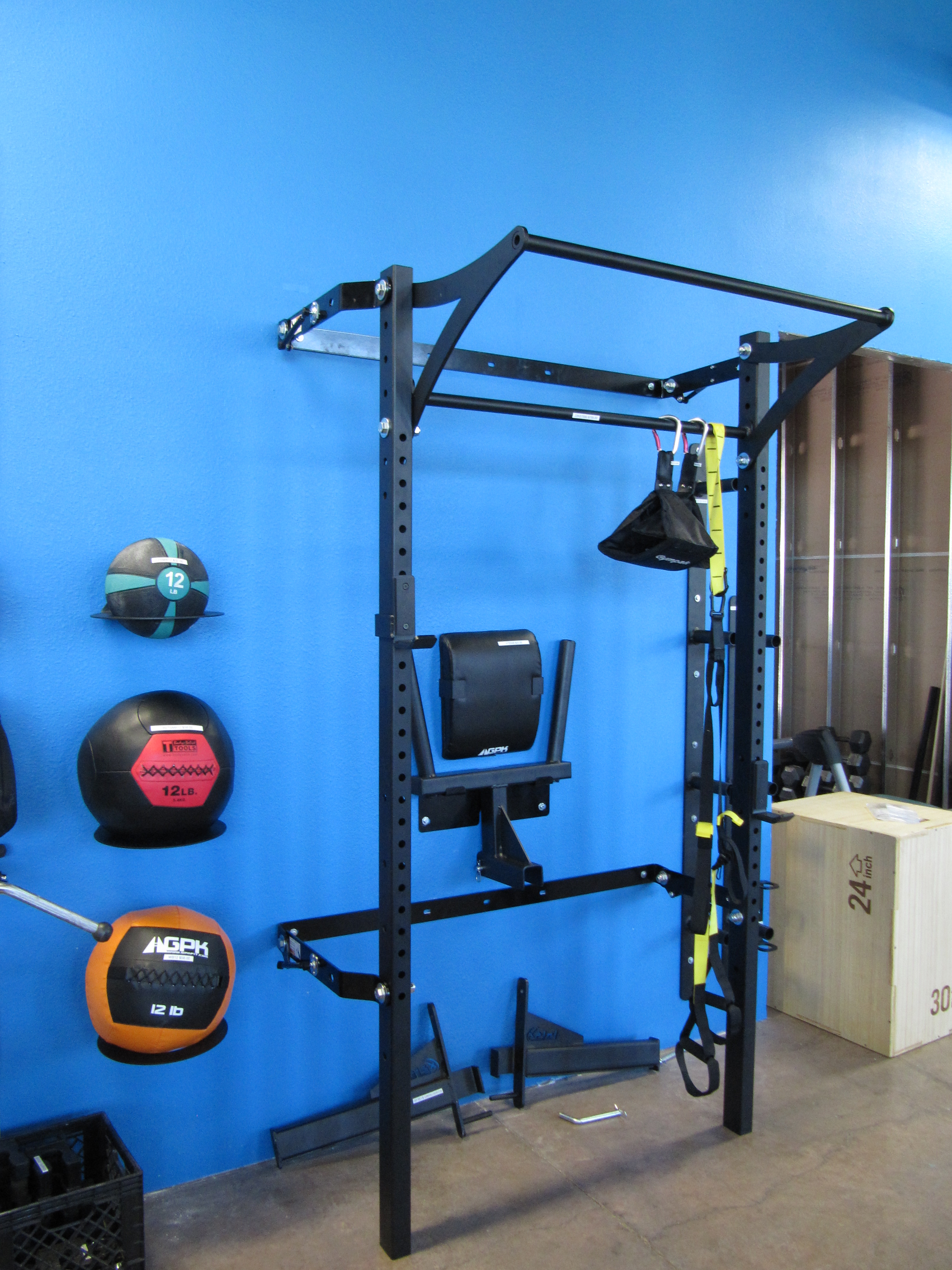 Garage gym shark tank prx performance profile rack review