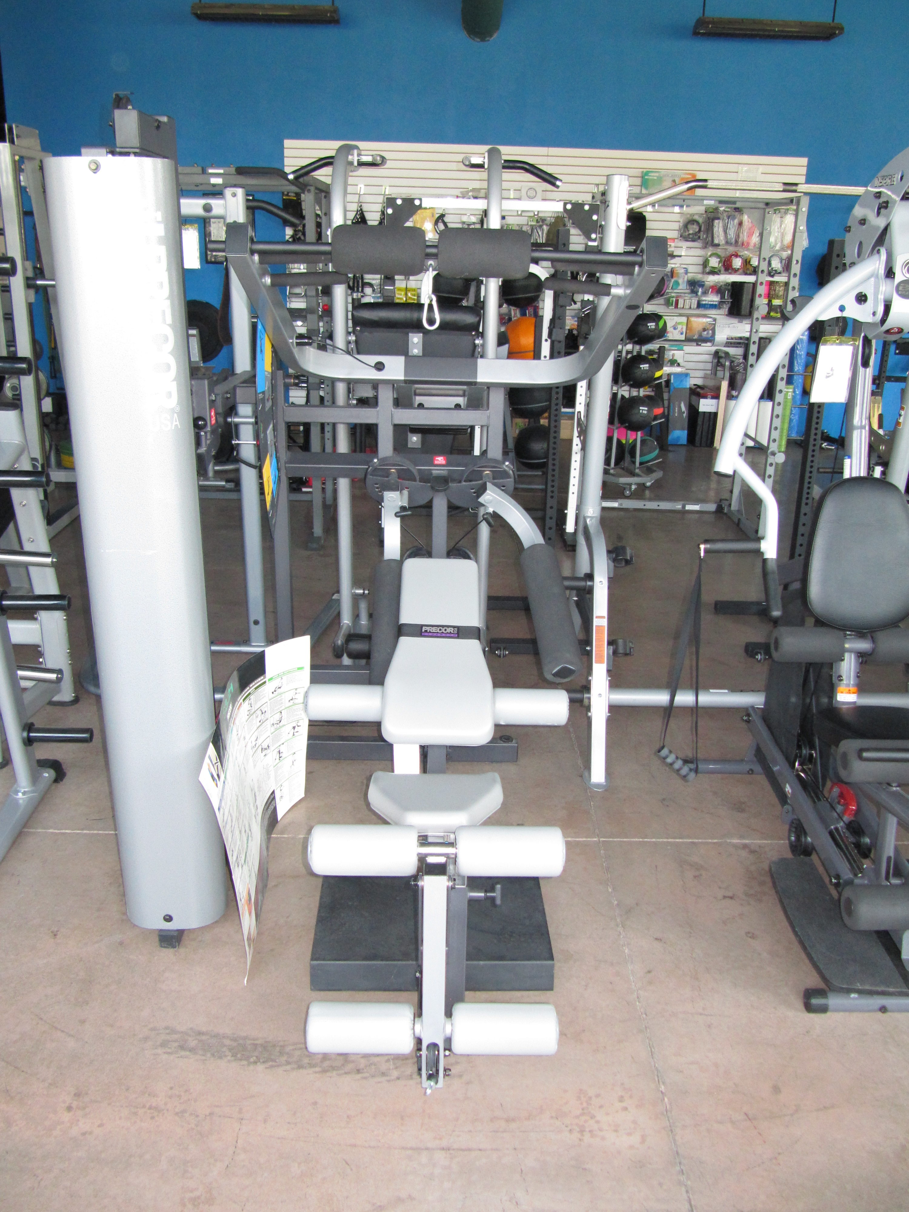 Precor s3 21 home gym pictures